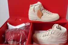"New Nike Air Jordan 2 Retro Just Don ""Don C""  834825 250 DS ""Beach"" Hat Gold Pin"