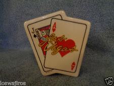 """RSA 1990 Las Vegas Souvenir Playing Cards Small Ceramic Bank w/ Stopper 3 1/2"""""""