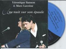 VERONIQUE SANSON & MARC LAVOINE - une nuit sur son epaule CD SINGLE 2TR France