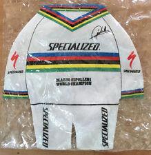 Specialized Mario CIPOLLINI mini jersey World Champion memorabilia collectible