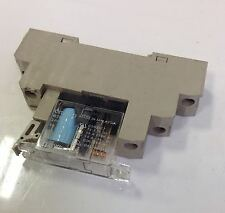 OMRON RELAY W/ BASE LOT OF 4  G2R-1-1/P2RF-05-E