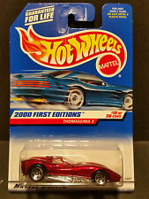 2000 Hot Wheels #070 First Editions 10/36 Thomassima 3 - 5 Spoke - 24367