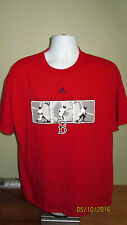 XL Adidas Baseball MLB Boston Red Sox Red Short Sleeve Casual T Shirt