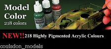 Acrylic Paint - Vallejo Model Color Full Range of 218 x 17ml Colors & Extras