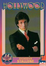Sylvester Stallone, Actor, Hollywood , Walk of Fame Trading Card -- NOT Postcard