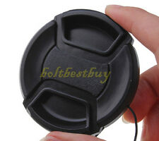 49mm Snap-On lens Cap Cover for Sony NEX3/NEX5 18-55mm Nikon Fuji Pentax Al
