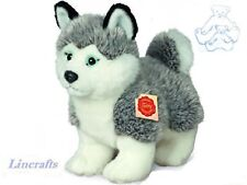 Husky Standing  Plush Soft Toy by Teddy Hermann Collection.  92701