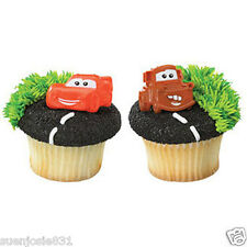 Disney Cars Cupcake Rings 24pcs Cake Toppers Decorations Party Favors