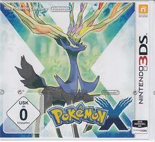 Pokemon x pour Nintendo 3ds NOUVEAU & OVP Allemand usk version