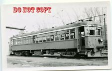 6G083 RP 1950 NIAGARA ST CATHARINES TORONTO RAILWAY CAR #83 ST CATHARINES ON