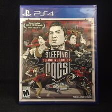 Sleeping Dogs: Definitive Edition (Sony PlayStation 4, 2014) BRAND NEW