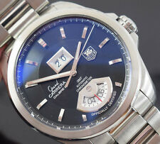 TAG Heuer Grand Carrera wav5111 GMT Scatola/DOCUMENTI/1 Anno Gtee 2009 anno eccellente