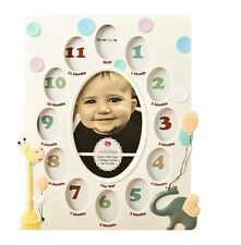 NEW Fashioncraft Baby's First Year (Newborn-1 yr) Collage Picture Frame Keepsake