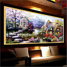 5D DIY Landscapes Embroidery Diamond Painting Cross Stitch Kits Home Decoration
