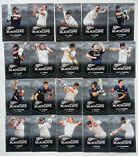 LIMITED!!  2016 -  FULL SET 20 ~ NEW ZEALAND  BLACKCAPS CRICKET CARDS ~ CALTEX