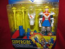 Superman--SUPERGIRL -with Aerial Assault Armour-- Action Figure  1998  SEALED