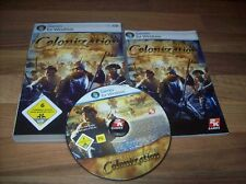 Sid Meier 's Civilization IV colonization PC versión alemana con mercancía nueva manual