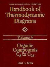 Handbook of Thermodynamic Diagrams, Volume 3: Organic Compounds C8 to C28 (Handb