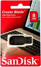 NEW SanDisk Cruzer Blade 8GB USB Flash Drive Thumb Pen Memory Stick 2.0