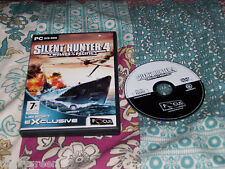 Silent hunter 4 wolves of the pacific pc dvd rom