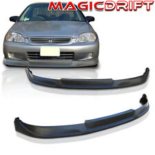 NEW Type Concept Front Bumper Lip Urethane Plastic for ALL 99-00 Honda Civic EK