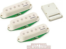 Fishman Fluence Single Coil Strat Pickups & Rechargeable Battery PRF-STR-WH3