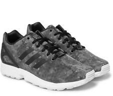 NIB Adidas X White Mountaineering ZX Flux Shell Trainers - Grey, sz UK 7