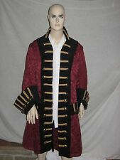 "Custom Made Pirate Frock Coat with all the ""bells and whistles"""