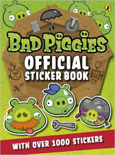 Angry Birds: Bad Piggies Official Sticker Book, New,  Book