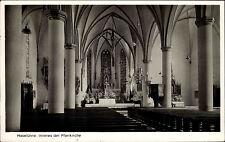 Haselünne Niedersachsen Ansichtskarte 1955 Innenansicht der Pfarrkirche Altar