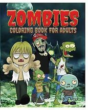 Zombies Coloring Book for Adults by Jason Potash (2015, Paperback)