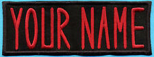 """CHILDS Iron-on Custom Ghostbusters Name Tag Patch - """"YOUR NAME"""""""