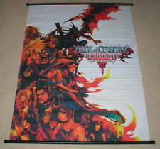 Final Fantasy VII 7 Dirge of Cerberus Original Soundtrack Cloth Art Wall Scroll