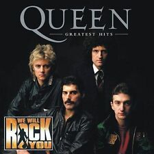 GREATEST HITS by Queen - CD w/Bohemian Rhapsody, We Will Rock You