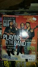 ACOUSTIC GUITAR MAGAZINE OCTOBER 1998 bare naked ladies tab free usa shipping