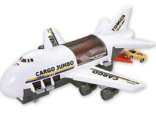 TOMICA WORLD Cargo Jumbo Plane FIGURE CAR PLAY SET NEW