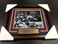 WALTER PAYTON SWEETNESS CHICAGO BEARS #34 8X10 Photo Framed WITH NAMEPLATE