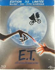 Blu Ray + DVD : E.T. L'extra Terrestre - Ed Steelbook - NEUF