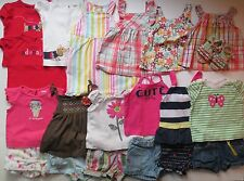 Gymboree Girls Size 12-18 18-24 Months Summer Clothes Outfits Sandals LOT