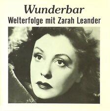 CD - Zarah Leander - Wunderbar - Welterfolge Mit Zarah Leander - A296
