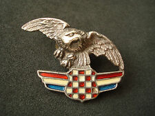 Croatia Army, Air Force wartime badge - Eagle, Homeland war, military, rare