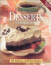 NEW - Desserts Cookbook (Cooking Light)