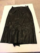 Emilio Pucci leather skirt Euro 36/ UK 8/10