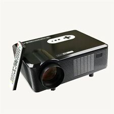 3000 Lumen 720P 1080P HD LED Projector Home Theater HDMI USB VGA AV 3D Analog TV