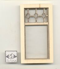 Window -  Diamond Top Style - 2186 wood dollhouse miniature 1:12 scale USA made
