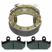 Front Brake Pads & Rear Brake Shoes Fits HONDA VT600C Shadow 600 VLX 1988-1992