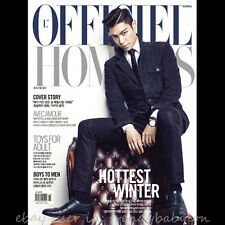 T.O.P in Suit Cover: L'Officiel Hommes Korea November 2013 BIGBANG INFINITE L