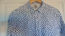 Diesel ~ Mini Rose Print Short Sleeved Shirt - Size Small to Medium Slimfit 38""