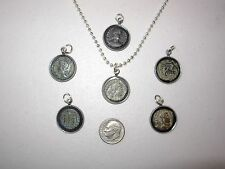 Ancient Coin Necklace Pendant Jewelry Original Ancient Roman Coin