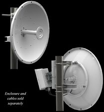 Pair of  5 GHz Parabolic Dual Polarity Parabolic Dish Antennas, 29 dB  w/ Radome